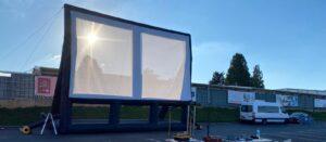 מסך קולנוע ענק לאירועים